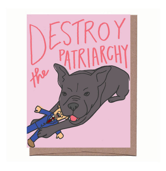 Destroy the Patriarchy Card
