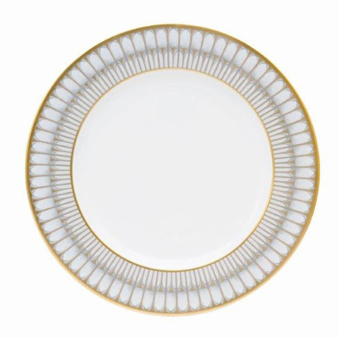 Arcades Grey Dinner Plate (in Gold or Platinum)