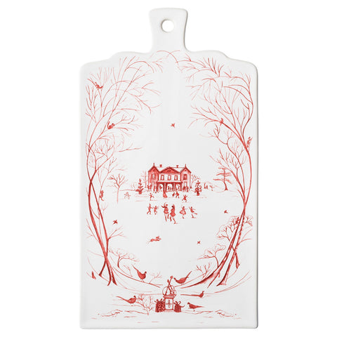 Country Estate Winter Frolic Serving Board