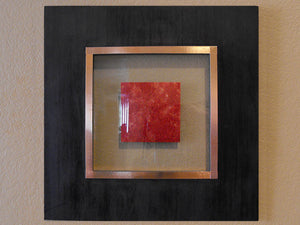 Passion Framed Copper Wall Art