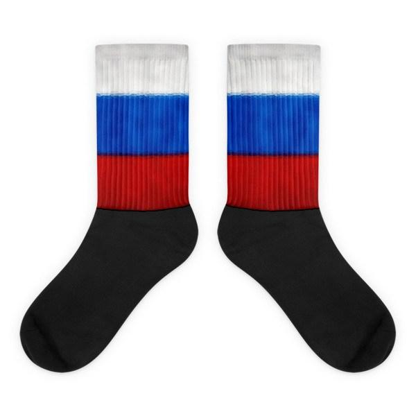 Russian Flag Novelty Socks - Nation Love