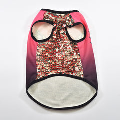 Knitted Vest with Sequins