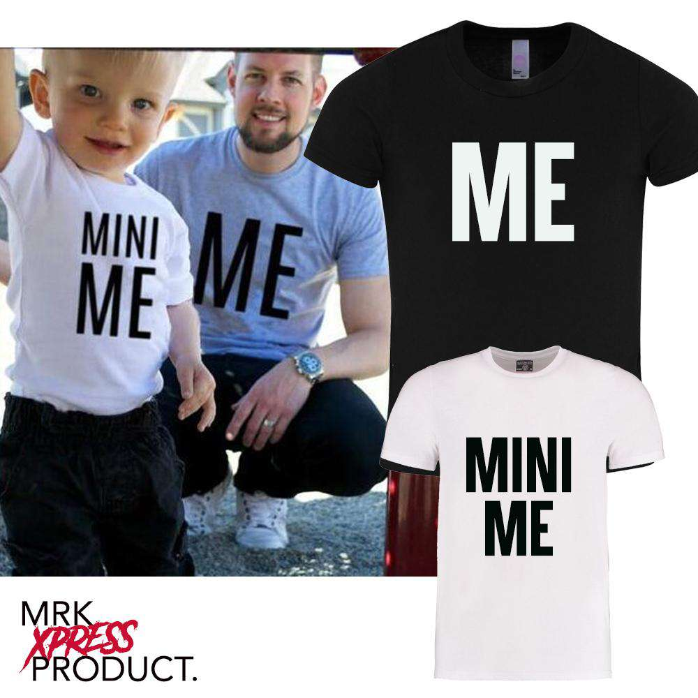 Me/Mini ME Matching Adult & Kid Matching Tees (MRK X)