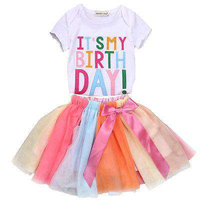 Its My Birthday Party Dress (1-6 Years)