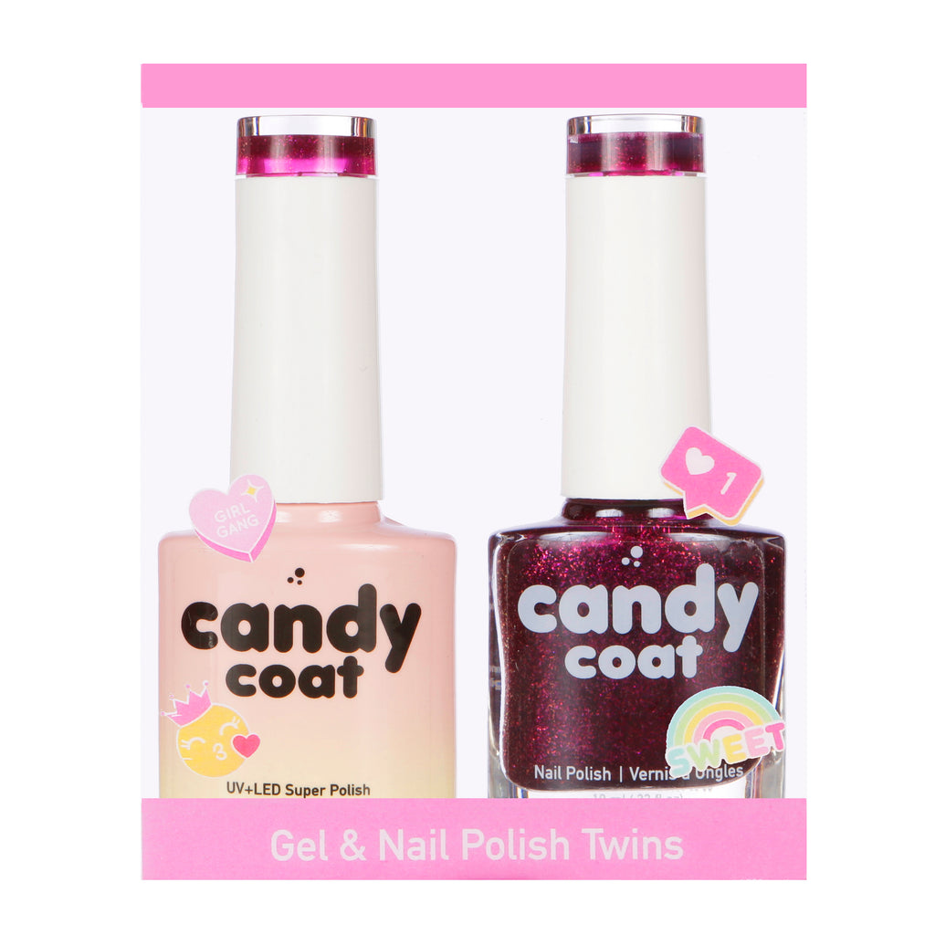 Gel & Nail Polish Twinset - Nº M297 - Candy Coat