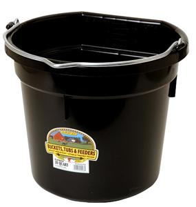 20 Quart Flatback Bucket - [product_type} - Hamps Saddle & Tack