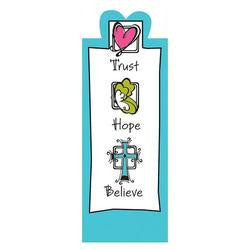 BOOKMARK - MAGNETIC - TRUST HOPE BELIEVE