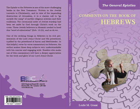 COMMENTS ON THE BOOK OF HEBREWS - L.M. GRANT