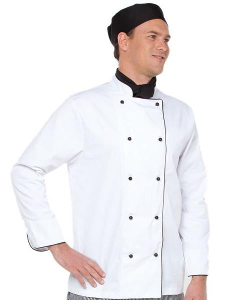 Unisex Long Sleeve Chefs Jacket
