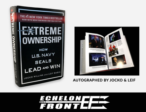 Autographed Book - Extreme Ownership - NEW EDITION