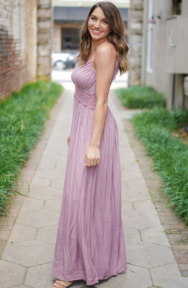 Lilac Whimsy Dress