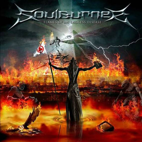 Soulburner - Flames Of An Endless Disease CD