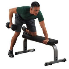 "Body Solid 2"" x 3"" Flat Light Commercial Weight Bench GFB350"