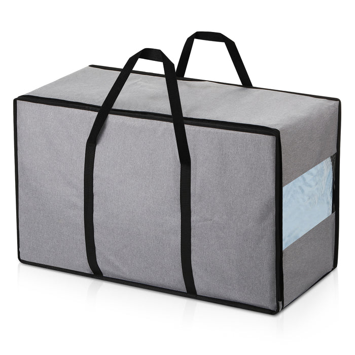 Magicfly Large Waterproof Thick Over-Sized Storage Bag, Gray