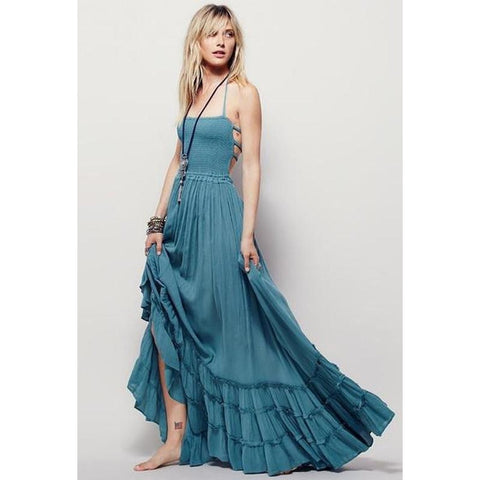 'Road Trippin' Maxi Dress - Epethiya