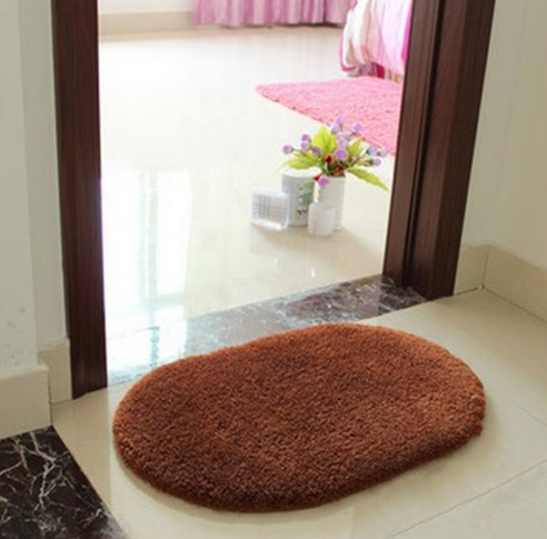 Super Magic Slip-Resistant Oval Carpet