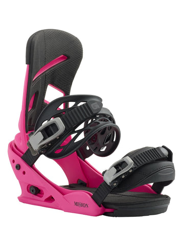 BURTON MISSION SNOWBOARD BINDINGS - PINK - 2019