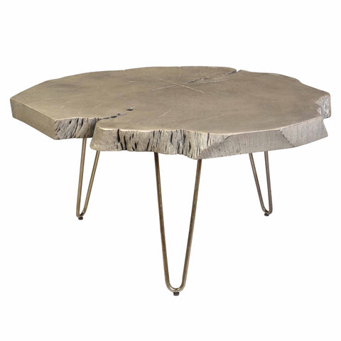 Grey Color Coffee Table - Nila