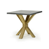 Zinc topped End Table