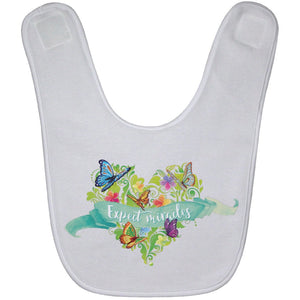 Expect Miracles Terry Baby Bib - Accessories - White - One Size -