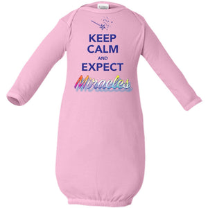 Keep Calm and Expect Miracles Infant Layette - Accessories - Pink - One Size -