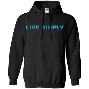 Live Simply - Colorful Unisex Sweatshirts & Hoodies-Apparel-Hoodie-Black-S-The Miracles Store
