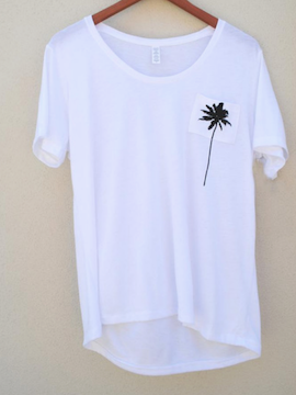 Summer Palm Tree Top - Summertime Boutique