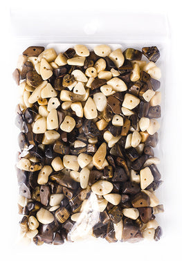 100g Semi-Precious Loose Chips - Almond Delight Mix (SP018)