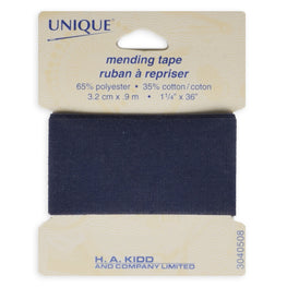 1 yard Mending Tape - Navy Blue