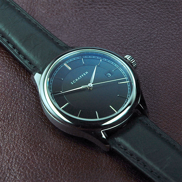 A65 Dress Watch with black dial