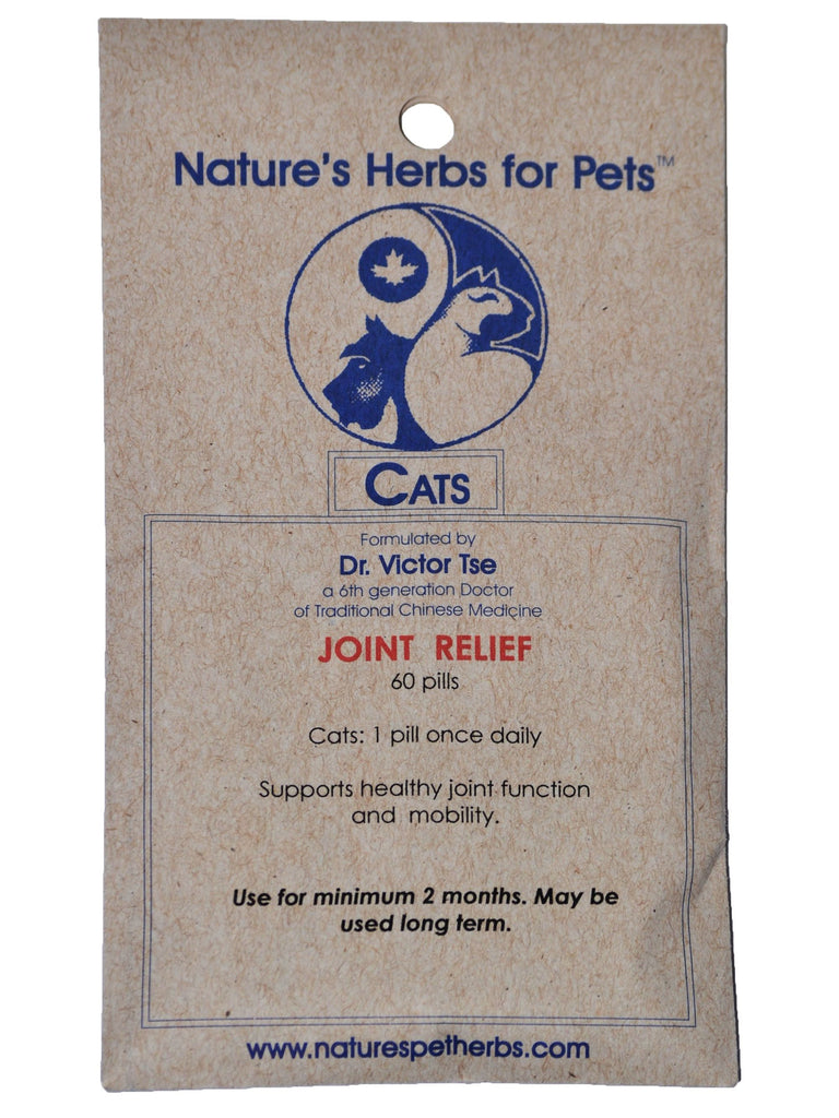 Natures Herbs for Pets, Joint Relief for Cats, 60 ct