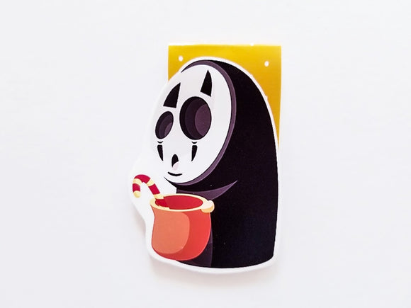 Trick-or-Treat No face magnetic bookmark
