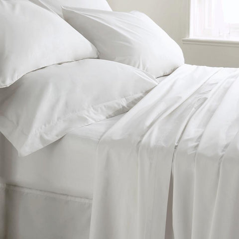 400 Thread Count Fitted Sheet SINGLE - Bed and Bath Emporium Ltd