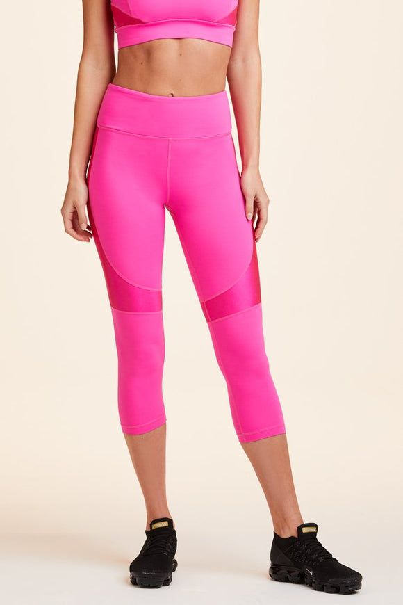 ALALA LEGGING CROP VAMP TIGHT