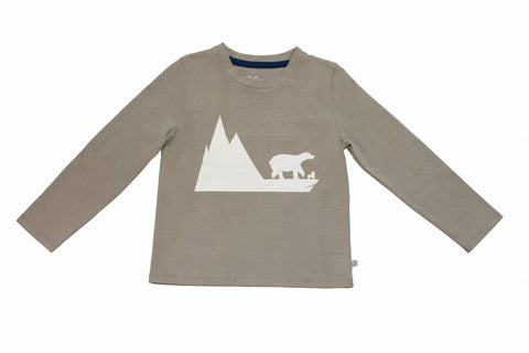 Bobo Bear T-shirt - Grey
