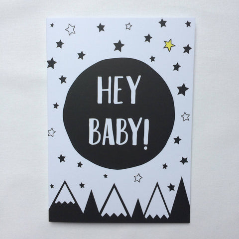 Superhero Collective - Baby Greeting Card