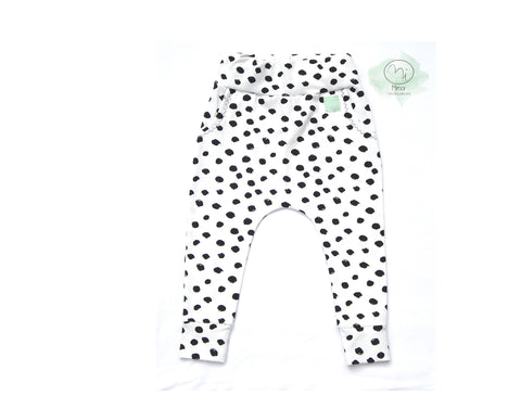 Mimor Babo pants - Jersey Points black and white