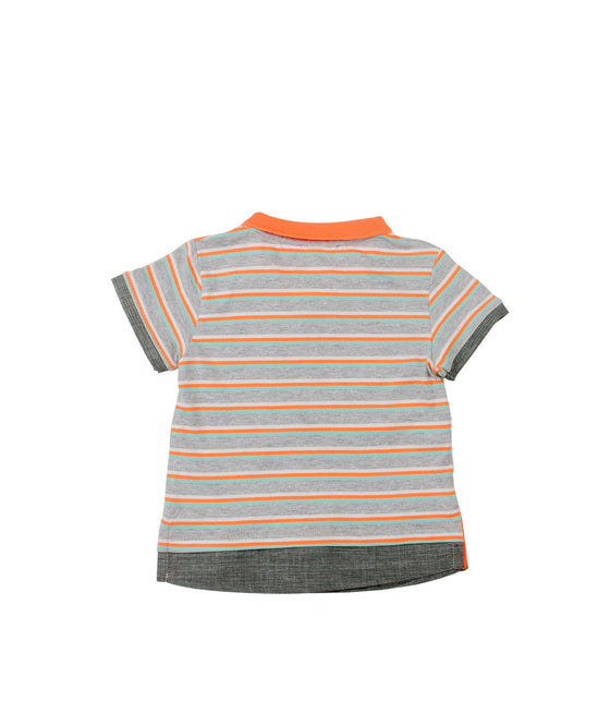 Baby Boys Striped Polo