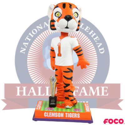 Clemson Tigers NCAA College Football 2018 National Champions Bobblehead