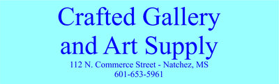 Crafted Gallery & Art Supply in Downtown Natchez Mississippi