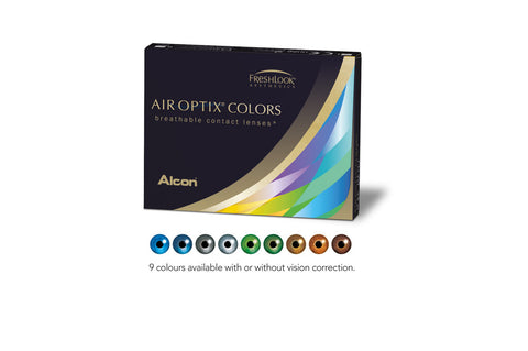 AIR OPTIX COLOURS PLANO - 2 Pack Contact Lenses $44.99 Express Post