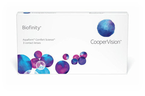 Biofinity - 3 Pack Contact Lenses $48.99 Express Post