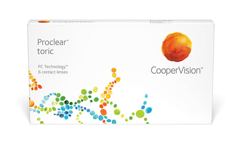 Proclear Toric - 6 Pack Contact Lenses $117.99 Express Post