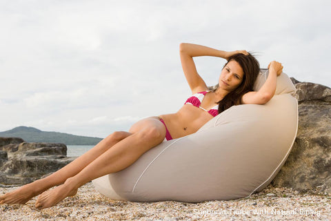 Large Beanbag - Outdoor Sunbrella