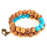 Sea of Hope - Olive Wood Bracelets