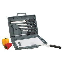 Maxam CT82 Knife Set and Cutting Board with case - House Home & Office - Fits My Budget
