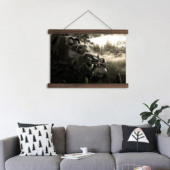 Black Cloud Canvas Paintings