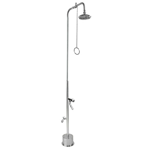 Outdoor Shower Co Free Standing - Pull Chain Valve BS-2000-PCV-ADA