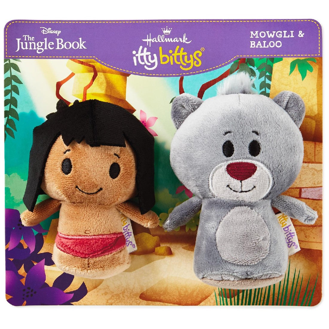 MOWGLI & BALOO JUNGLE BOOK TWIN PACK