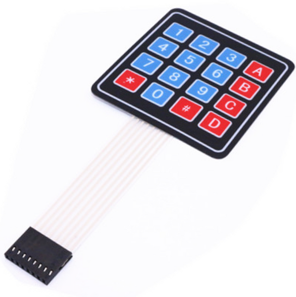 16 Key keypad for Arduino